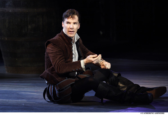 BENEDICT CUMBERBATCH as Rosencrantz in Rosencrantz and Guildenstern Are Dead by Tom Stoppard, in 50 Years on Stage.