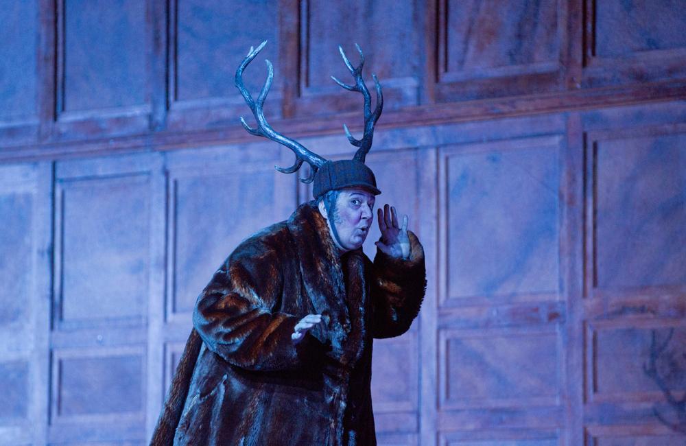 Ambrogio Maestri in the title role of Falstaff.