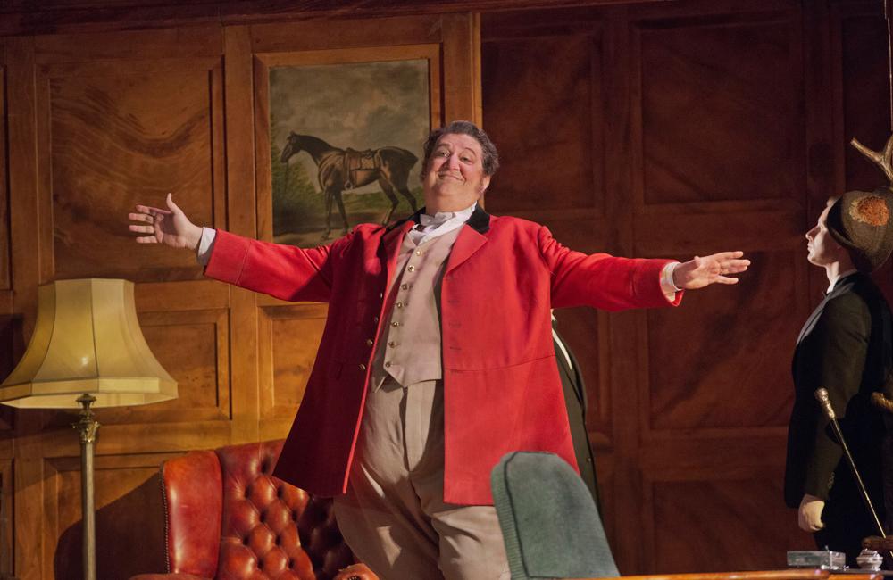 Ambrogio Maestri in the title role of Verdi's Falstaff.
