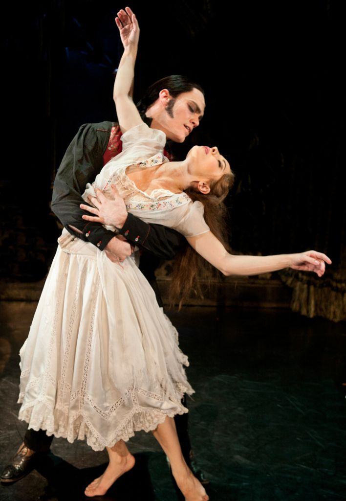 Caradoc and Aurora in Matthew Bourne's Sleeping Beauty.