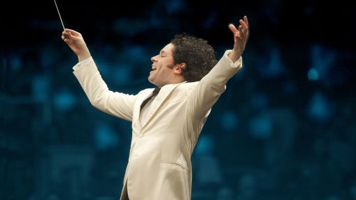 Gustavo Dudamel. photo: Adam Latham