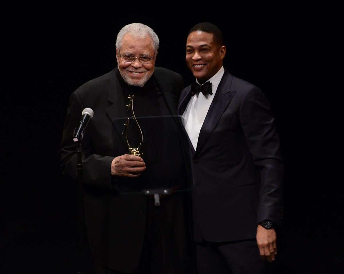 James Earl Jones and Don Lemon