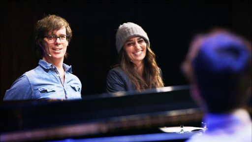 Ben Folds and Sara Bareilles at American Voices Festival