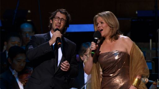 Josh Groban and Rene Fleming perform Se from Cinema Paradiso on Great Performances