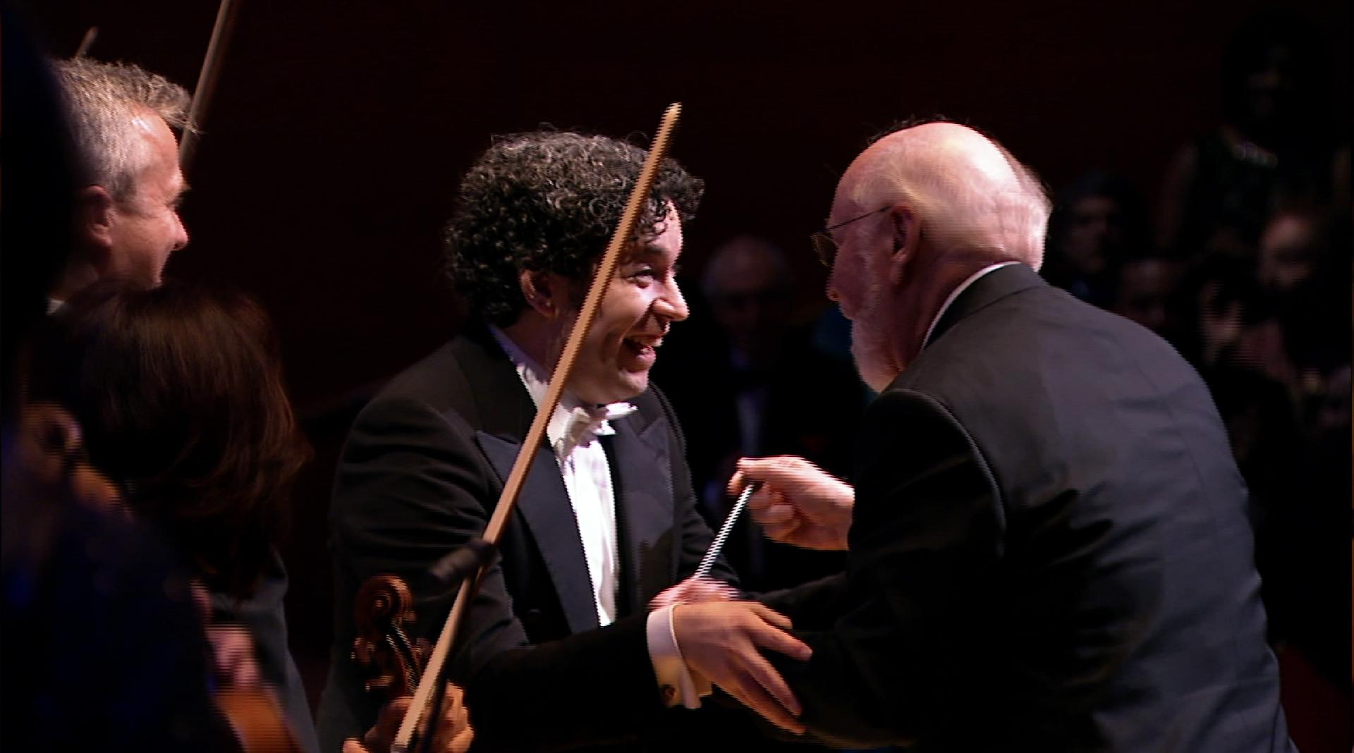 Gustavo Dudamel and John Williams
