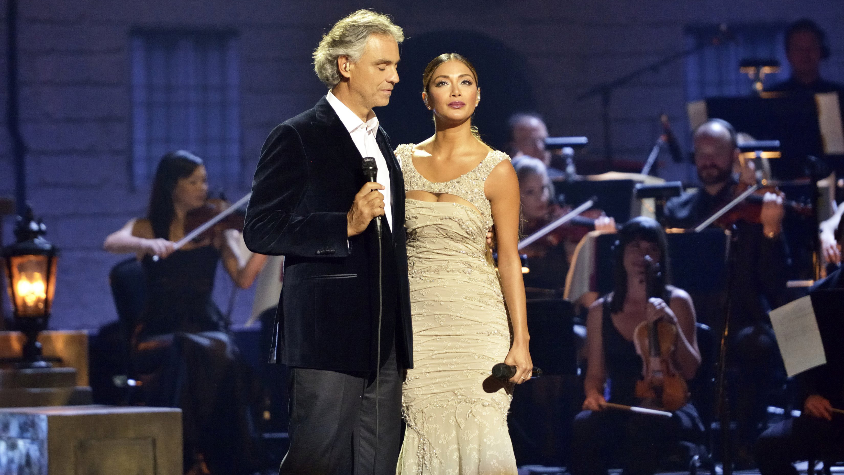Andrea Bocelli: Cinema... Nicole Scherzinger Songs From Evita