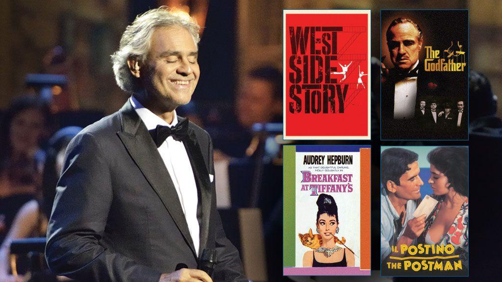 Andrea Bocelli: Cinema on Great Performances