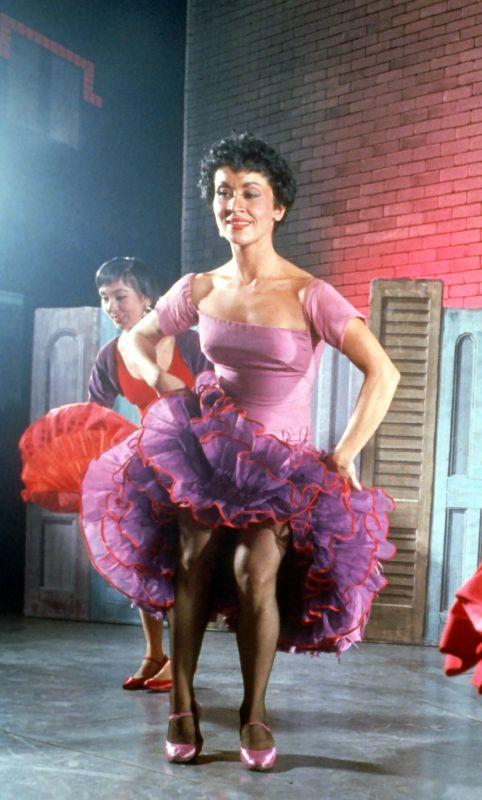 Chita Rivera in West Side Story. Credit: Photofest