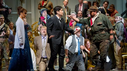 Lyric Opera's Bel Canto: A Tale from Terrorism, on Stage