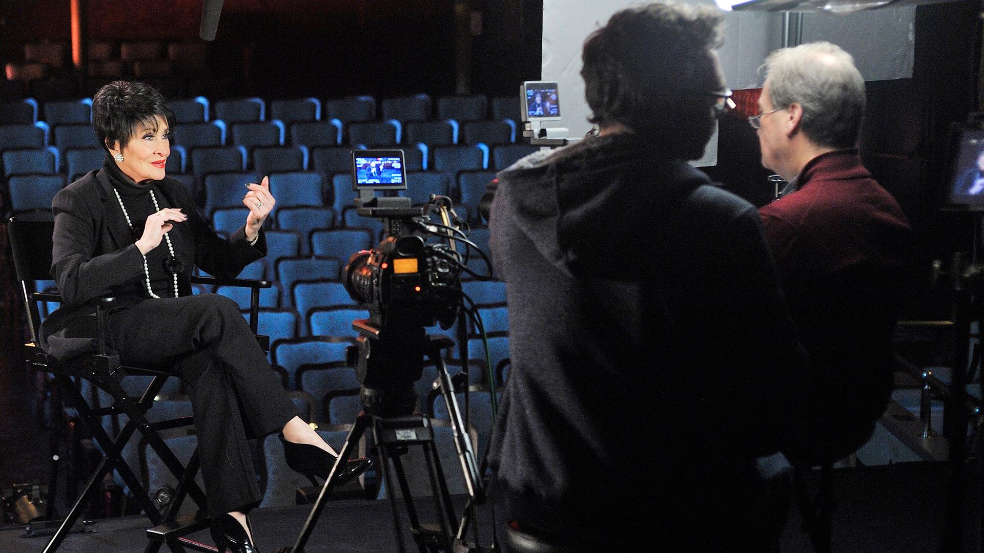 Chita Rivera interviewed by Executive Producer David Horn