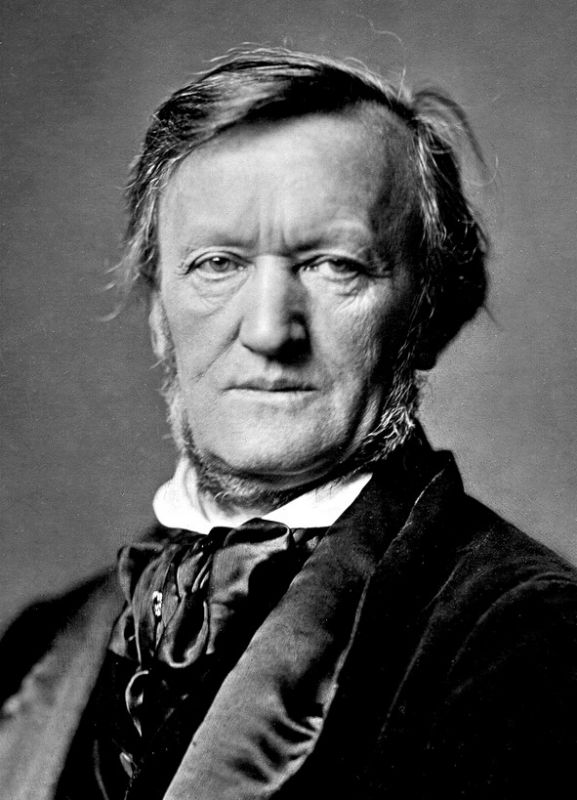 Richard Wagner in 1871.
