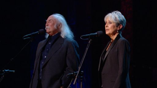 Joan Baez 75th Birthday Celebration -- Joan Baez and David Crosby Sing 'Blackbird'