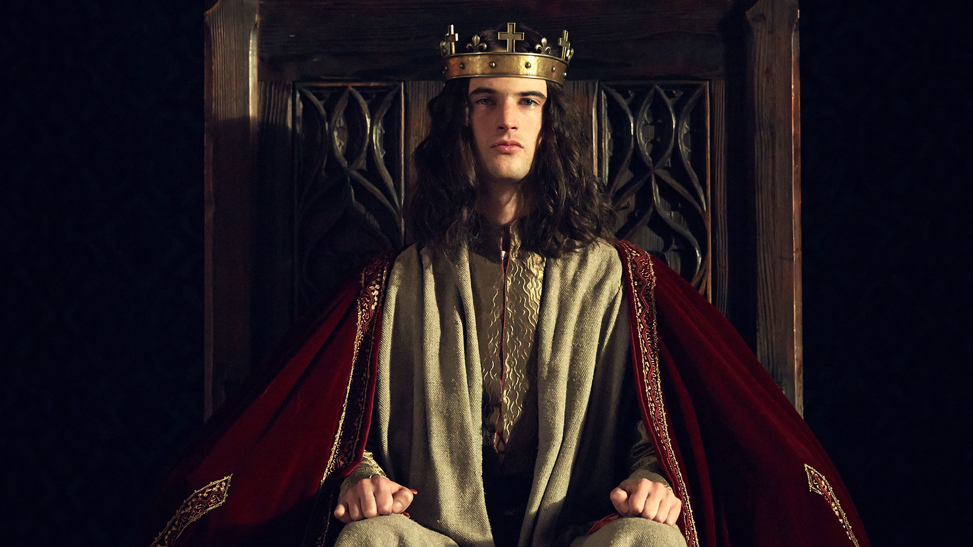 "Tom Sturridge (as HENRY VI) in ""The Hollow Crown: The Wars of the Roses Henry VI (Part I)."" Credit: Robert Viglasky © 2015 Carnival Film & Television Ltd"
