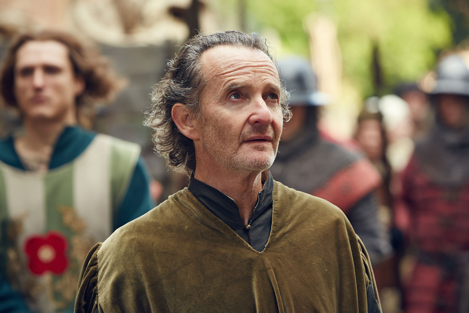 "Anton Lesser (as EXETER) in ""The Hollow Crown: The Wars of the Roses Henry VI (Part II)."" Credit: Robert Viglasky © 2015 Carnival Film & Television Ltd"