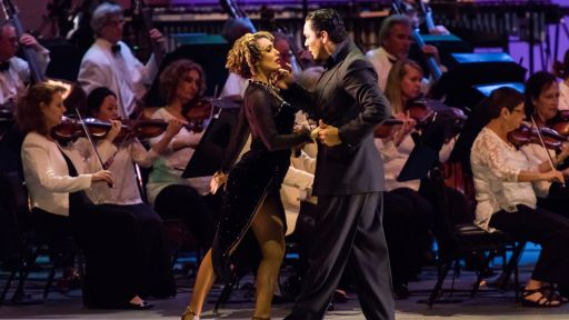 Dudamel Conducts Tangos Under the Stars - Full Episode -- Dudamel Conducts Tangos Under the Stars with the LA Phil