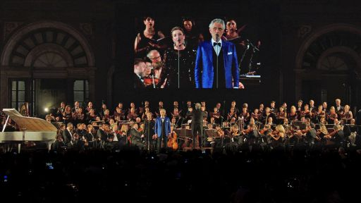 Andrea Bocelli – Landmarks Live in Concert -- Time to Say Goodbye: Andrea Bocelli and Carly Paoli
