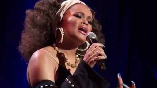 "GRAMMY Salute To Music Legends® 2017 -- Andra Day performs ""Mississippi Goddam"""