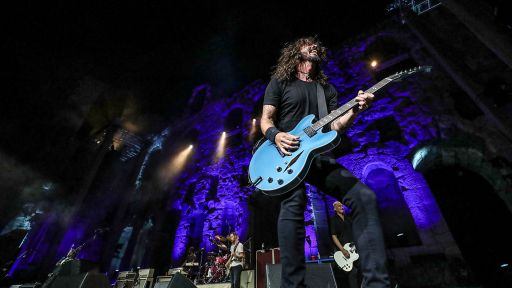 """Foo Fighters Perform """"The Pretender"""" at the Acropolis"""