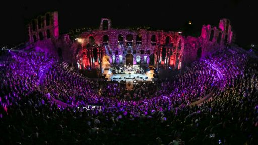 "Foo Fighters – Landmarks Live in Concert -- Foo Fighters Perform ""Sunday Rain"" at the Acropolis"