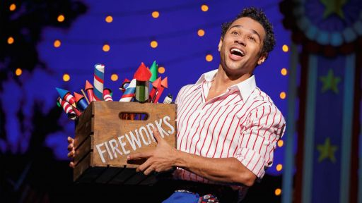 "Irving Berlin's Holiday Inn -- Corbin Bleu Performs ""Let's Say It With Firecrackers"""