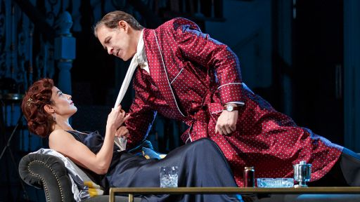 Noël Coward's Present Laughter -- Cobie Smulders and Kevin Kline