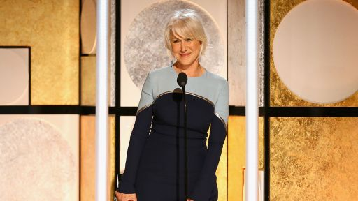 Helen Mirren Receives Career Achievement Honor