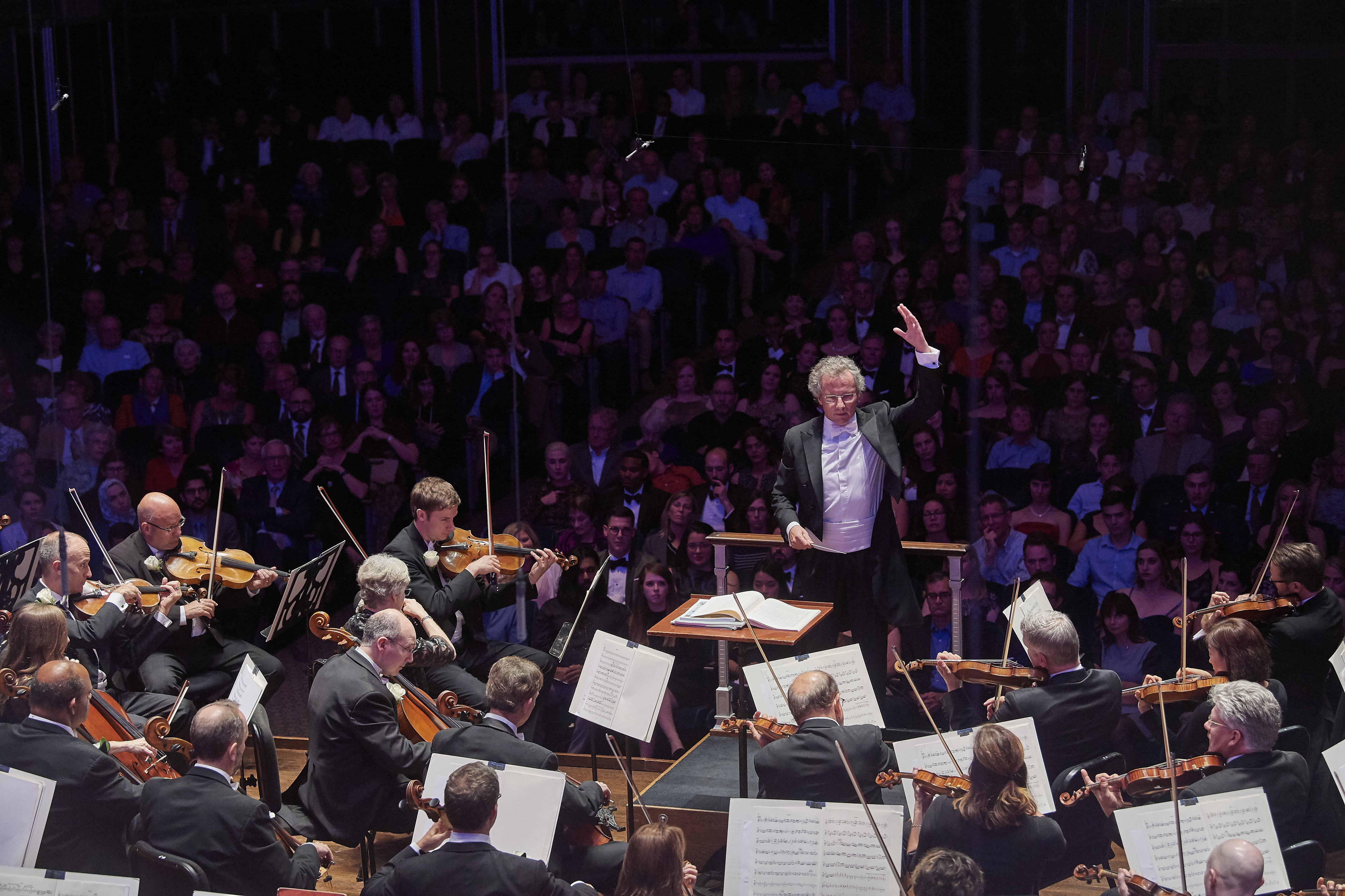 Music Director, Franz Welser-Möst leads The Cleveland Orchestra