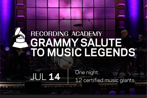 Recording Academy™ To Honor 2018 Special Merit Awards Recipients With GRAMMY Salute To Music Legends™ on Great Performances