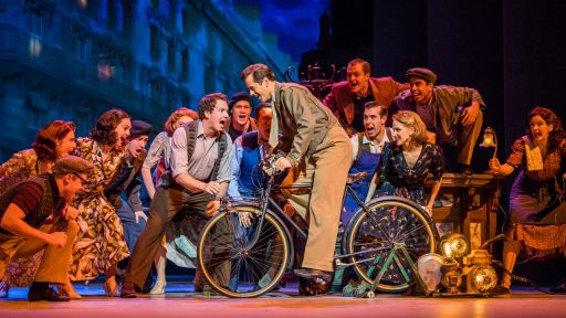 "An American In Paris The Musical -- ""I Got Rhythm"""