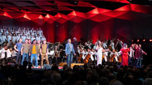 "Leonard Bernstein Centennial Celebration at Tanglewood -- ""A Boy Like That/I Have A Love"" - West Side Story"