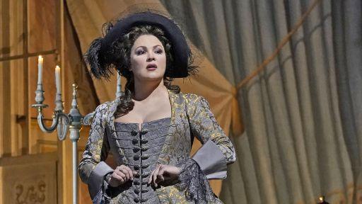 """Anna Netrebko in """"Adriana Lecouvreur."""""""