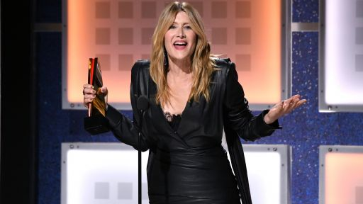 Movies for Grownups Awards 2020 with AARP The Magazine -- Laura Dern Accepts the Award for Best Supporting Actress