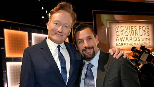 Movies for Grownups Awards 2020 with AARP The Magazine -- Conan O'Brien Roasts Adam Sandler