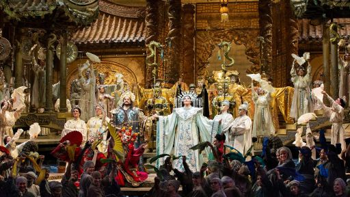 "GP at the Met: Turandot -- Christine Goerke sings ""In questia reggia"""