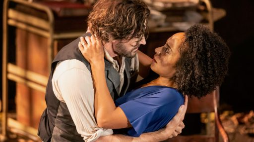 "Uncle Vanya -- Richard Armitage and Rosalind Eleazar in ""Uncle Vanya"""