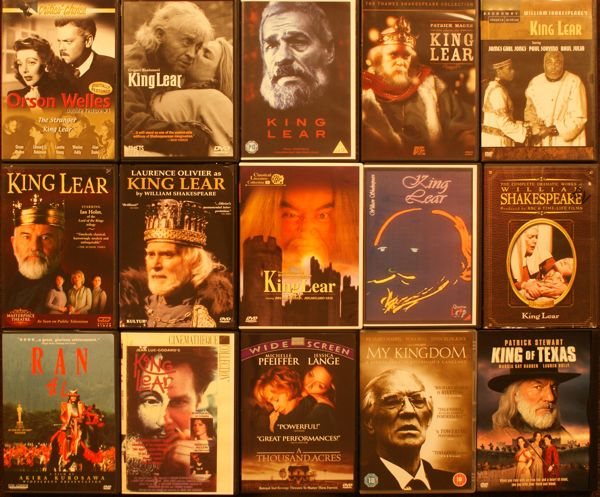 Covers of Lear DVDs
