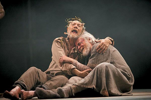 King Lear ~ Gloucester and Lear at Dover