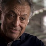 Zubin Mehta, Israel Philharmonic music director. Photo from Orchestra of Exiles.