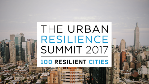 Peril & Promise at Urban Resilience Summit 2017
