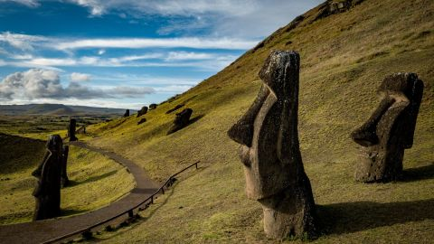 Easter Island is Eroding