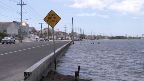 Report predicts high cost of tidal flooding for NJ coast