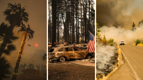 CLIMATE UPDATE: The California Fires