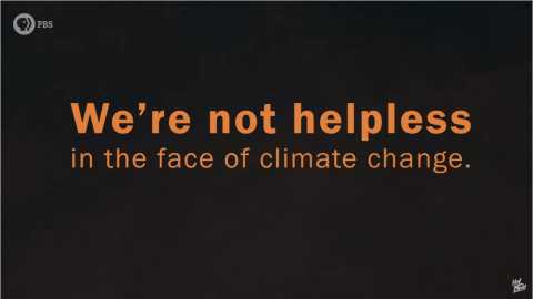 How can we start a conversation about climate change?