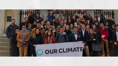 Youth Lobby Climate Day is taking place across the country