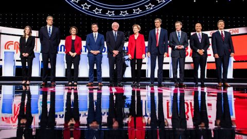 Climate at the Second Democratic Debate: What New Topics Were Introduced and How Did the Candidates Respond?