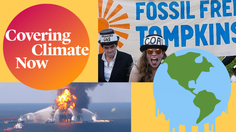 """We're Joining 250+ News Outlets That Are """"Covering Climate Now"""""""