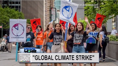 Teen Climate Organizer Natalie Sweet Explains the Global Climate Strike