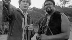"Fess Parker and Rosey Grier in ""Daniel Boone"" -- Pioneers of Television 
