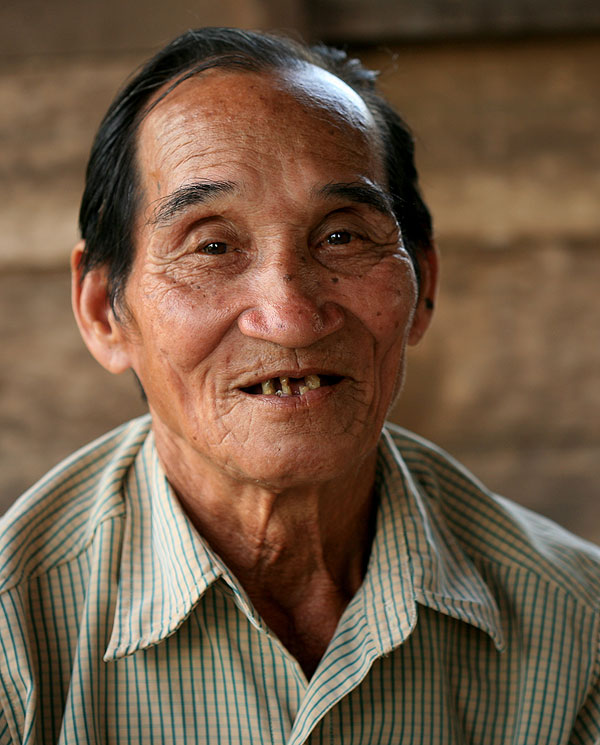 Kapung Balang, one of the young Dayak boys who saw the US bomber crash in the jungles of Borneo.