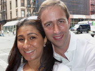 Anjali and Michael Pollack